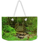 Bridge Across A River Is Part Of The Pa At Weekender Tote Bag