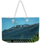 Bridge Alaska Rail  Weekender Tote Bag
