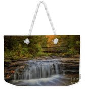 Bridge And Falls Weekender Tote Bag
