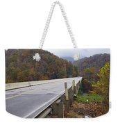 Bridge At Butler Weekender Tote Bag
