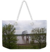 Bridge At Chester, Il Weekender Tote Bag
