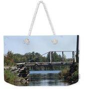 Bridge At Chub Weekender Tote Bag