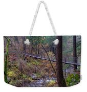 Bridge At Deer Creek Weekender Tote Bag