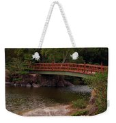 Bridge At Morikami Weekender Tote Bag