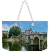 Bridge At Quissac - P4a16005 Weekender Tote Bag