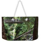 Bridge At Sol Duc Fall #1 Weekender Tote Bag
