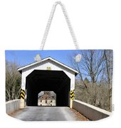 Bridge At The Mill. Weekender Tote Bag