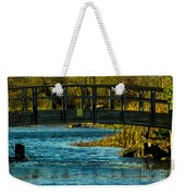 Bridge For Lovers Weekender Tote Bag
