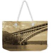 Bridge From The Train Weekender Tote Bag