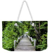 Bridge In Kosrae Weekender Tote Bag