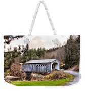 Bridge In Montgomery Weekender Tote Bag