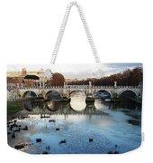 Bridge In Rome Weekender Tote Bag