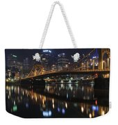 Bridge In The Heart Of Pittsburgh Weekender Tote Bag