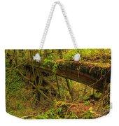 Bridge In The Rainforest Weekender Tote Bag