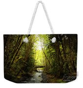 Bridge In The Rainforest Weekender Tote Bag
