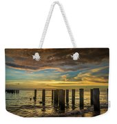 Bridge Of The Past Weekender Tote Bag