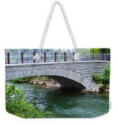 Bridge On The Niagara River Weekender Tote Bag