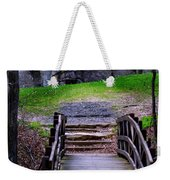 Bridge On The Trail Weekender Tote Bag