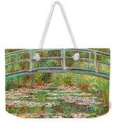 Bridge Over A Pond Of Water Lilies Weekender Tote Bag