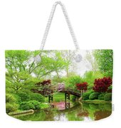 Bridge Over Calm Waters Weekender Tote Bag