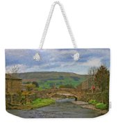 Bridge Over Duerley Beck - P4a16020 Weekender Tote Bag
