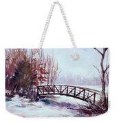 Snowy Span Weekender Tote Bag