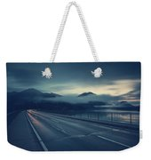 Bridge Over Lake Sylvenstein Weekender Tote Bag