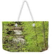 Bridge Over Little Clifty Falls Weekender Tote Bag