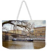 Bridge Over River Vltava Weekender Tote Bag