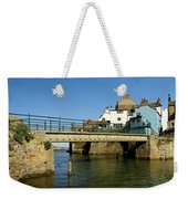 Bridge Over Staithes Beck Weekender Tote Bag