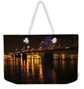 Bridge Over The Ohio Weekender Tote Bag