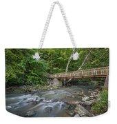 Bridge Over The Pike River Weekender Tote Bag