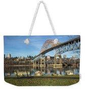 Bridge Over The River Weekender Tote Bag