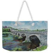 Bridge Over The River Laune, Killorglin Ireland Weekender Tote Bag
