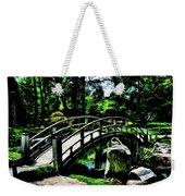 Bridge Over The Stream Weekender Tote Bag