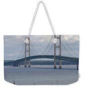 Bridge Over The Water Weekender Tote Bag