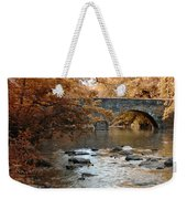 Bridge Over The Wissahickon At Valley Green Weekender Tote Bag