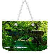 Bridge Over The Wissahickon Weekender Tote Bag