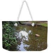 Bridge Over Tranquil Waters Weekender Tote Bag