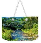 Bridge Over Tropical Dreams Weekender Tote Bag