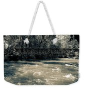 Bridge Over Water Weekender Tote Bag