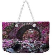 Bridge River Weekender Tote Bag