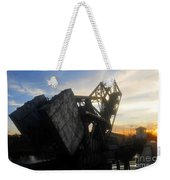 Bridge Sundown Weekender Tote Bag