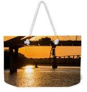 Bridge Sunrise 1 Weekender Tote Bag