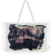 Bridge That Curved, Delft, Holland Weekender Tote Bag