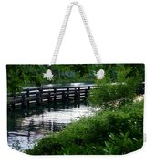 Bridge Through The Trees Weekender Tote Bag