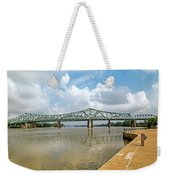 bridge to Belpre, Ohio Weekender Tote Bag