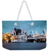 Bridge To Charing Cross Weekender Tote Bag by Helga Novelli
