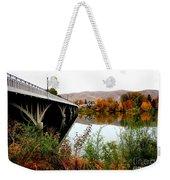 Bridge To Downtown Prosser Weekender Tote Bag