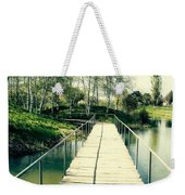 Bridge To Evening Island Weekender Tote Bag